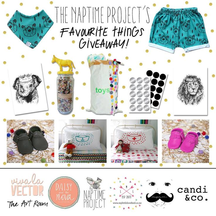Enter to win: The Naptime Project's Favourtie Things Giveaway | http://www.dango.co.nz/s.php?u=CBRH63bx2796