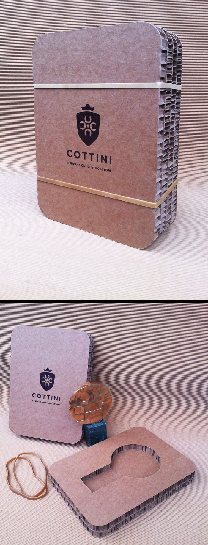 packaging / cardboard / sculpture