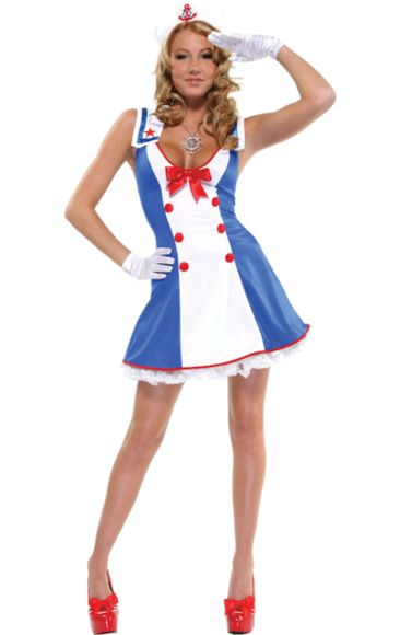 Adult Overboard Sailor Costume