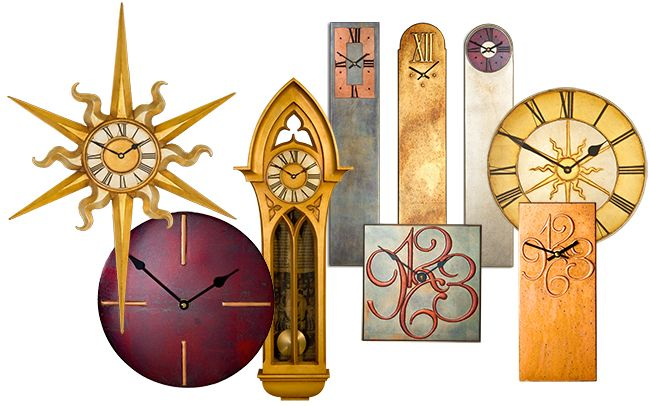 Large wall clocks and extra large wall clocks at the decorative art gallery, here you can find wide collection of decorative, mantle and contemporary handmade clocks at http://www.decroativeartefacts.co.uk/  inspired from the major European decorative art movement.