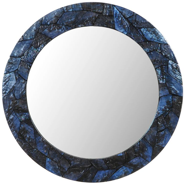 Blue Wall Mirror 98 best mirrors for beach homes images on pinterest | framed