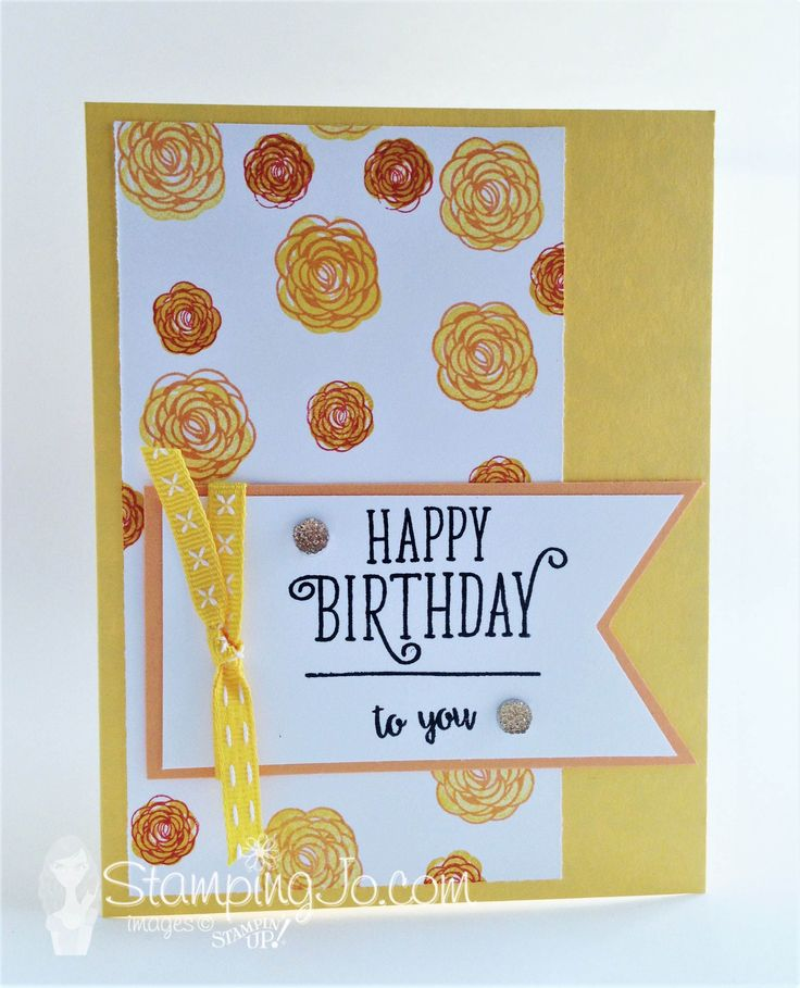 Happy Birthday Gorgeous, Stampin Up, 2017-2018 Annual Catalogue, handmade birthday cards