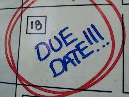 Today is my un-due date. Anyone care to take a guess what that is?