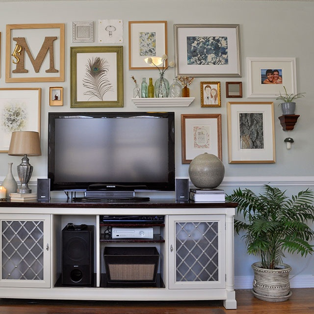 Tv On The Wall Ideas 338 best gallery wall images on pinterest | home, tv walls and