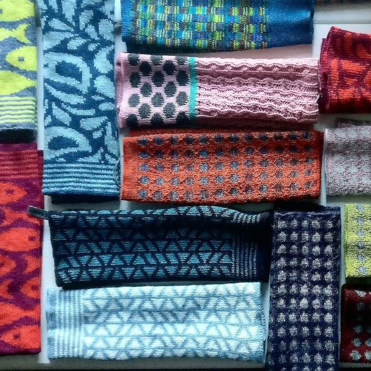 Colourful Hand Warmers | McKernan Woollen Mills | Handmade scarves and accessories | Made in Ireland | Irish Design | Weaving & Knitting