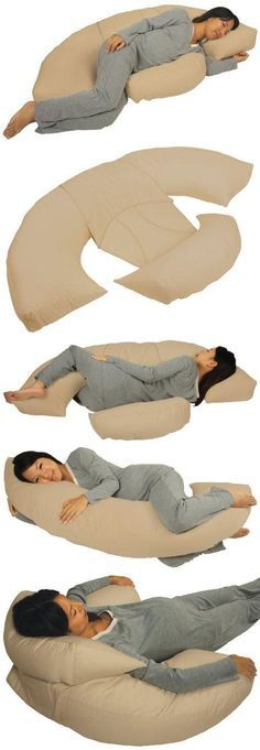 Leachco Body Bumper Contoured Body Pillow System, Khaki New Born, Baby, Child, Kid, Infant, The Body Bumper is a contoured body pillow system with multiple positioning options to meet your needs. The system consists of a large curved body pillow and a smaller body bumper, which can be used t..., #Baby, #Accessories