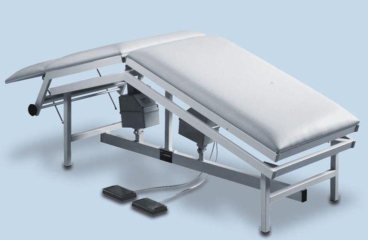Table de soins de kinésithérapeute, et de rééducation, mobilier pour cabinet paramédical