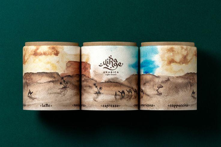 Mirage Arabica Coffee Concept on Behance