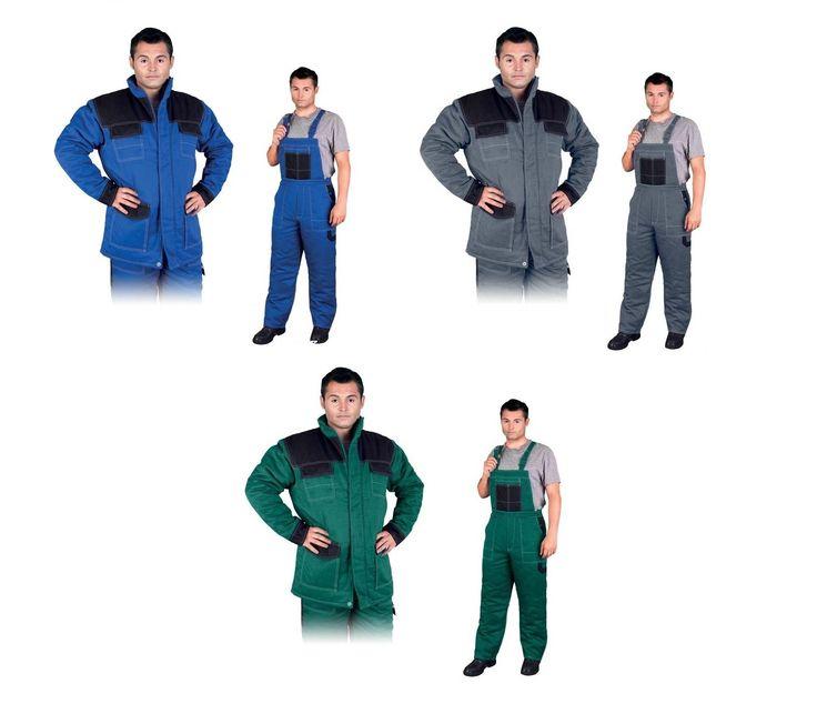 Ubranie Robocze Ocieplane Multi Master Spodnie Mmws + Kurtka Mmwjl - Glovex BHP