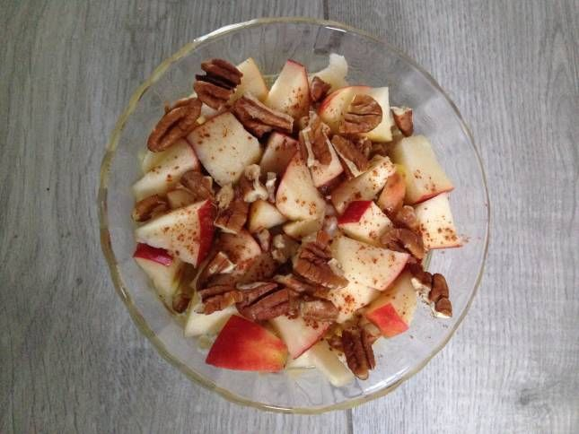 Recept: Appel kaneel havermout ontbijt