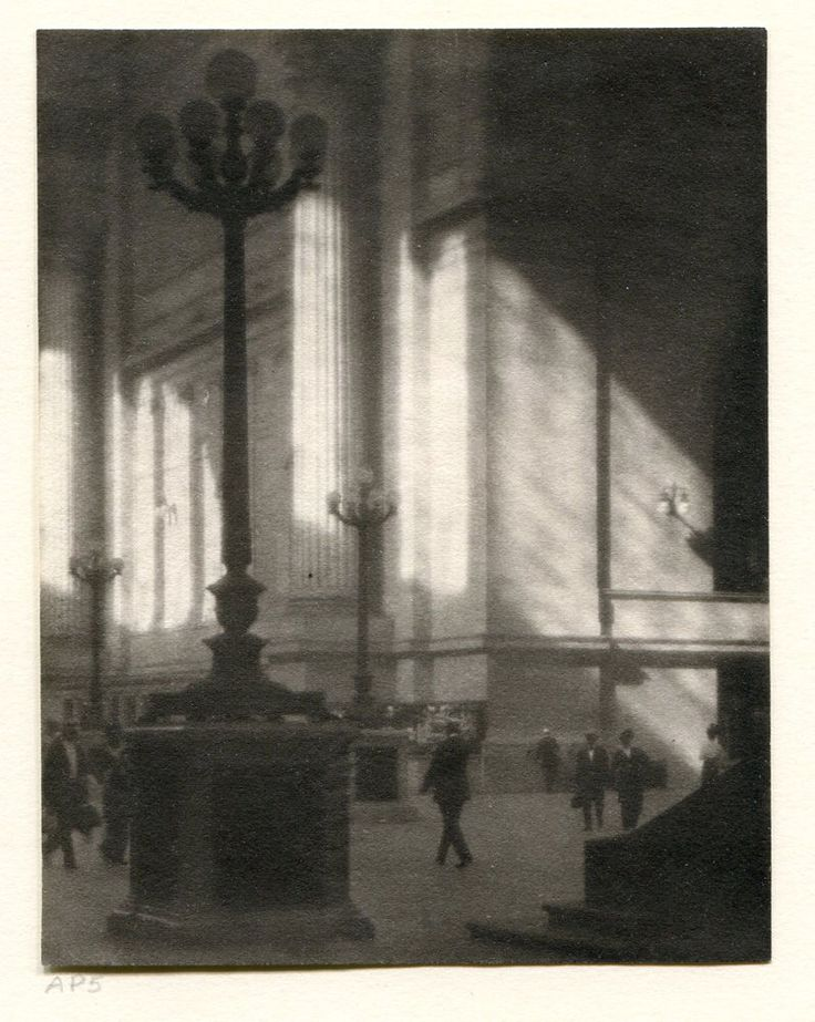 KARL STRUSS PENN STATION NYC PLATINUM PRINT SIGNED FANTASTIC! MUST SEE!