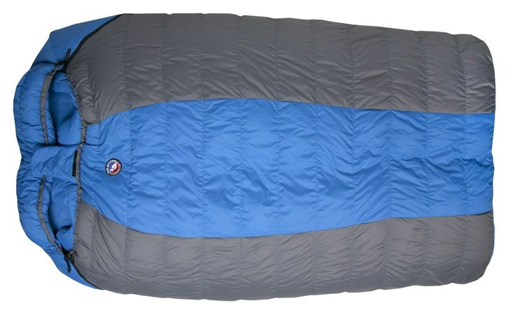 Sac de couchage double Big Agnes King Solomon - Duvet d'oie 600 cuin