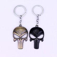New Arrival The Punisher Skull Logo marvel Symbol Keychains Superhero Stainless Steel Pendant punisher marvel Halloween gifts //Price: $US $1.66 & FREE Shipping //    #homemformiga #marvel