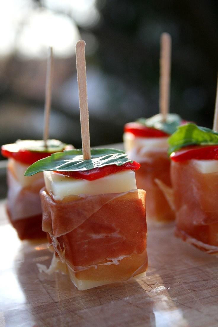 Comte & Prosciutto Skewers | Food & Spirits | Pinterest