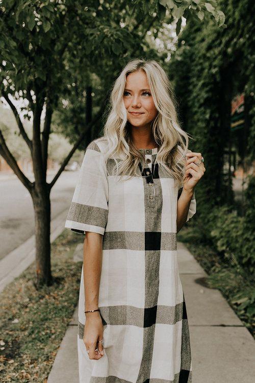 #ROOLEEfave Fall Plaid Dress | ROOLEE
