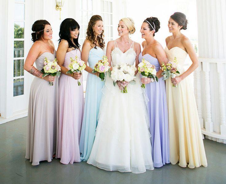 25 Best Ideas About Beige Bridesmaid Dresses On Pinterest: Best 25+ Pastel Bridesmaid Dresses Ideas On Pinterest