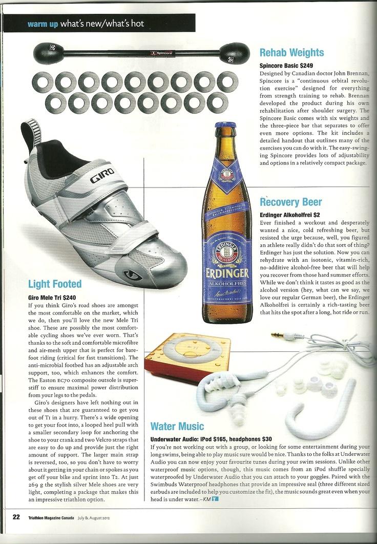 Add Erdinger Alkoholfrei to your training routine