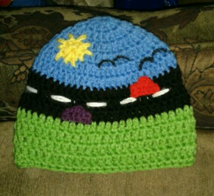 street baby hat #crochet