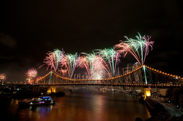 I love Riverfire -- and funnily enough, I must have been standing very close to Luke when he took this photo! Too bad the MiCat was way too close to the bridge that year...