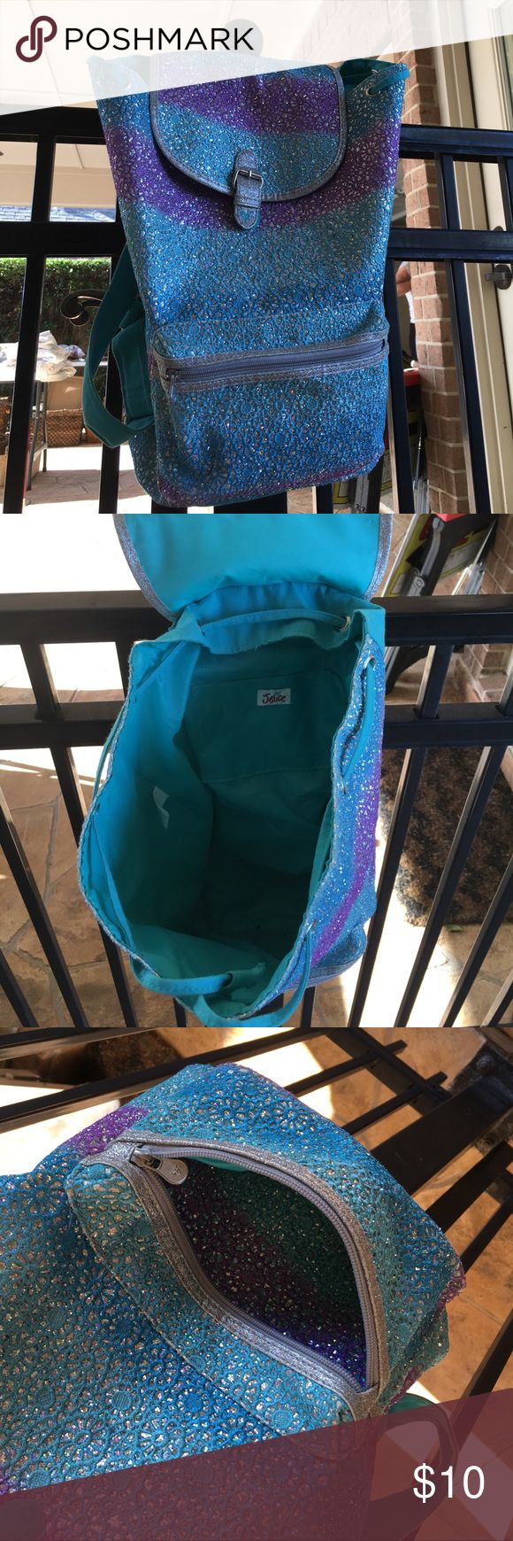 Justice backpack Girls backpack from justice. Great condition! Justice Bags Backpacks
