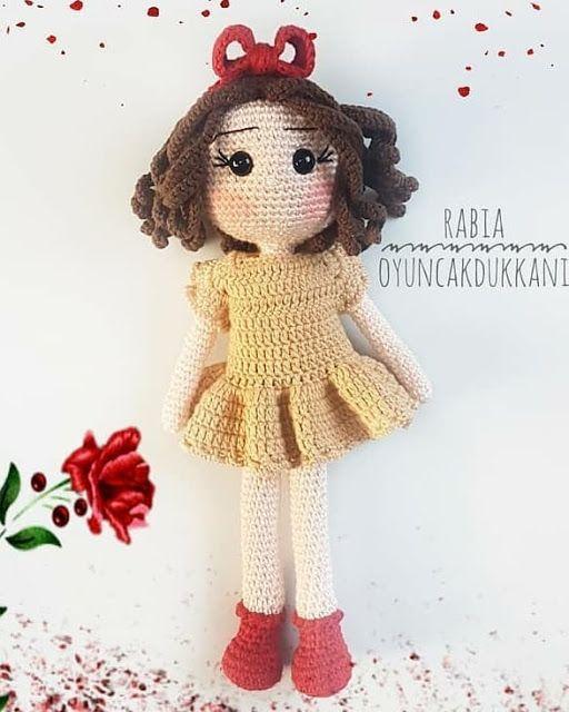 Leithygurumi: Amigurumi Honey Doll Free English Pattern – Rabia Güllü Pattern