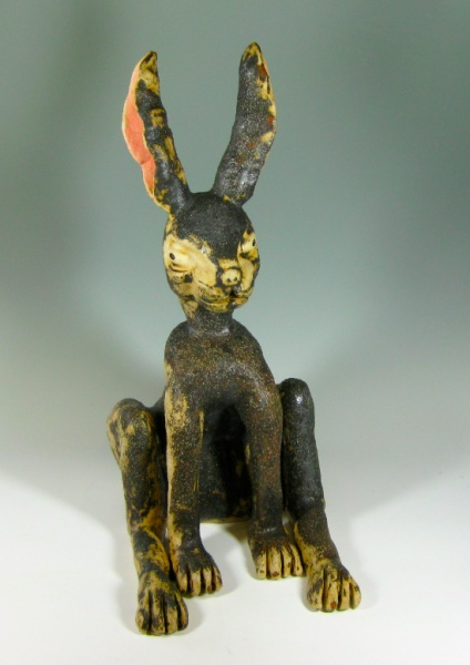 Simon Maskell - The Hare can be kept inside or out, it is frost proof. £330