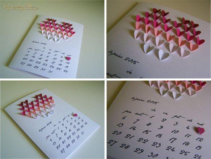 fajny pomysł z kalendarzem - dodatkowa strona czy coś