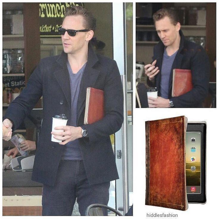 He's got great taste in #Mac accessories! #Repost @hiddlesfashion  Tom…