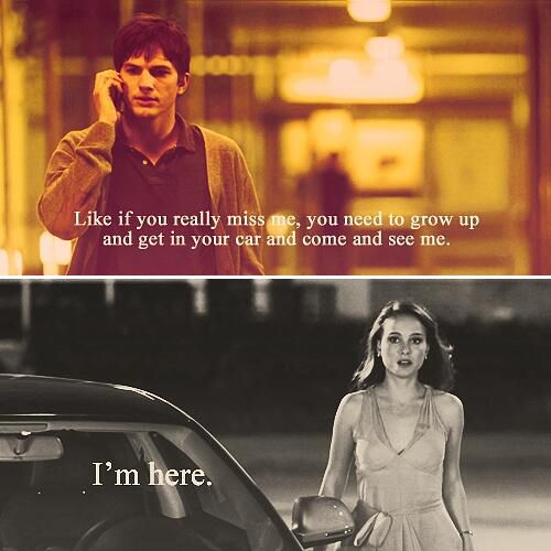 27 Notable Movie Lines..this one from Natalie Portman & Ashton Kutcher in film No Strings Attached