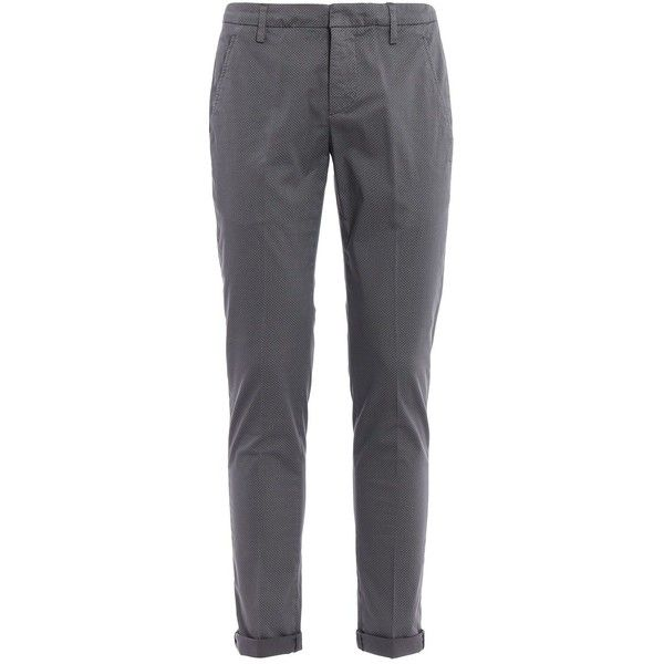 Gaubert Chino Trousers (190 AUD) ❤ liked on Polyvore featuring men's fashion, men's clothing, men's pants, men's casual pants, grey, mens grey dress pants, mens leopard print pants, mens patterned pants, mens chino pants and mens chinos pants