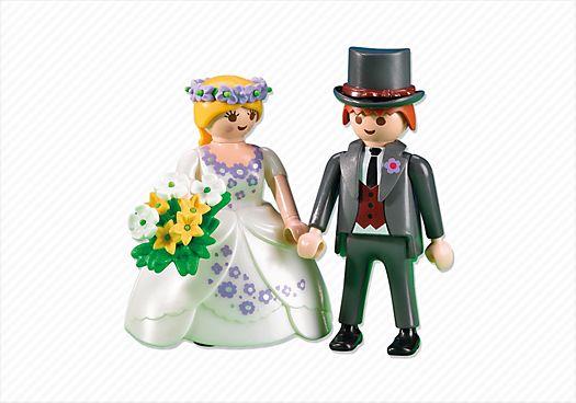 und auf die Hochzeitstorte kommt PLAYMOBIL