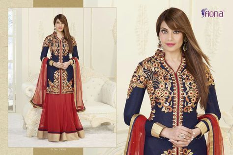 FIONA VOL 3 bipasha basu designer suits direct from Surat manufacturer at wholesale best price