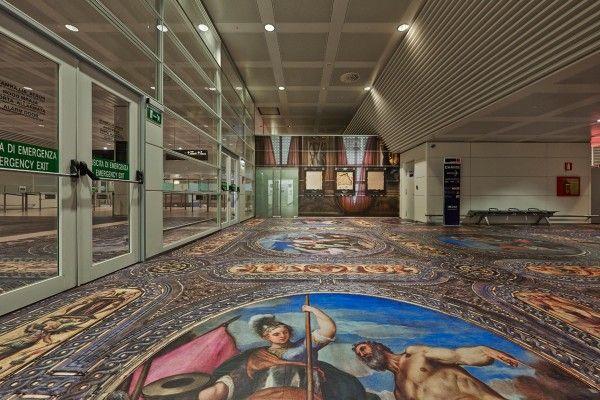 Simon Denny, Secret Power at Marco Polo Airport, The New Zealand Pavilion Photo…