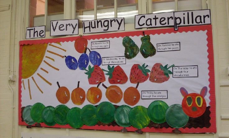 The Very Hungry Caterpillar classroom display photo - Photo gallery - SparkleBox