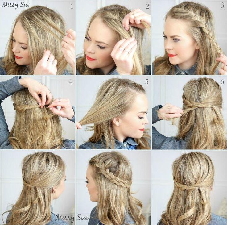 Ideas de peinados con trenzas | Belleza