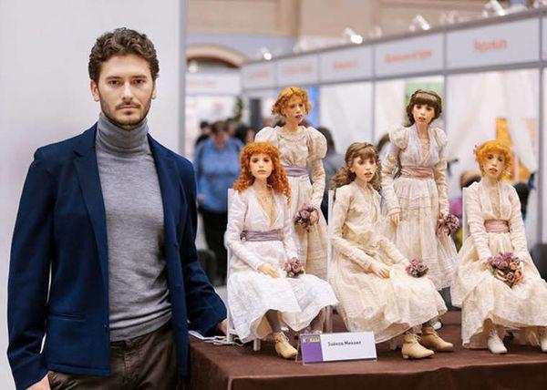 Extrem lebensechte Puppen von Michael Zajkov