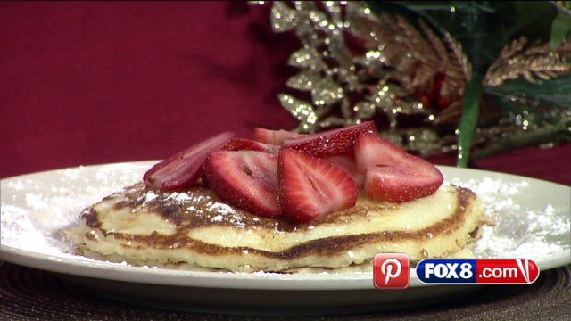 CLEVELAND, Ohio -- Looking for a great brunch recipe that will have your guests asking for second helpings? The Cheesecake Factory shared their recipe for Lemon-Ricotta Pancakes and Fox 8's Stefani Schaefer gives the dish a big thumbs up.  Click here to learn more about area Cheesecake Factory locations.