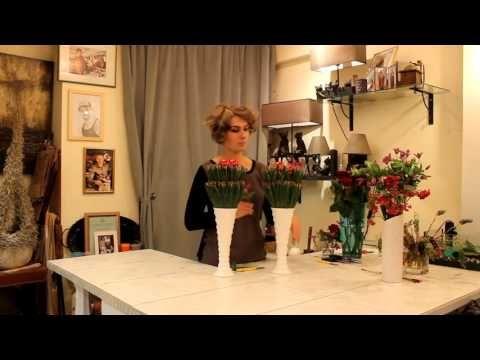 Уроки флористики Славы Роска. Мастер-класс - YouTube