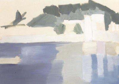 "Nicolas de Stael, ""Paysage d'Antibes"""