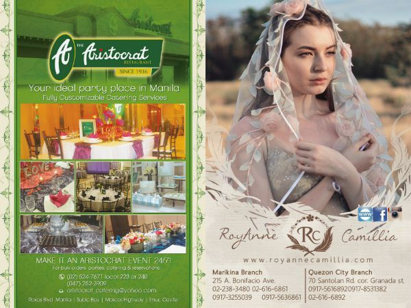 Check out  RoyAnne Camillia Couture  in the WEDDING DIGEST LUXE FOR LESS, the Revised Edition.