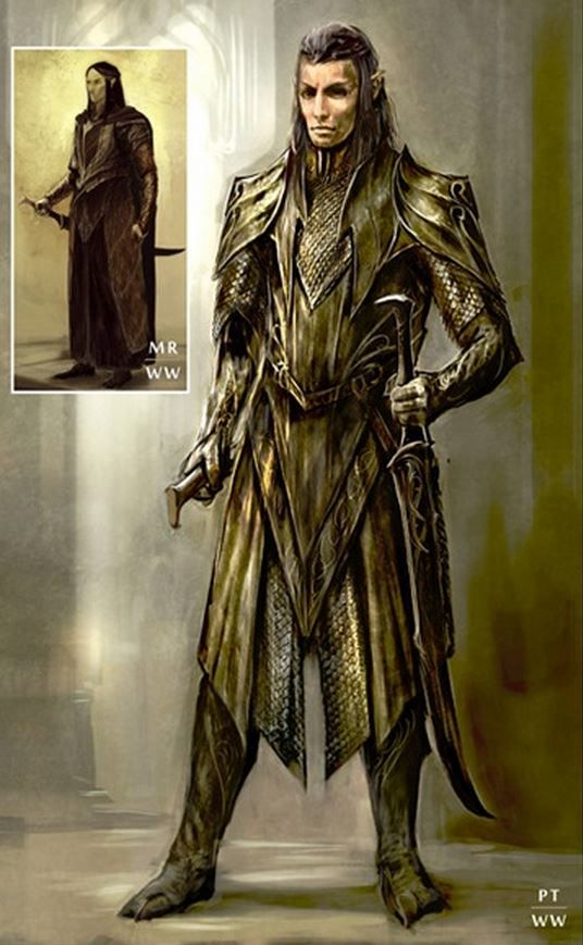 The Hobbit The Desolation of Smaug Chronicles Art
