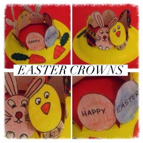 A Paper Plate Easter Crown. Easy to do and put together. Children will love & 29 best Mish mash Let\u0027s Create with Paper Plates Crafts and ...