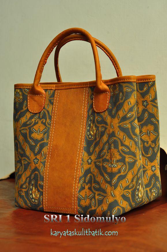 Sri 1 Sido Mulyo (Tas Kulit Batik ) by Karyatasku