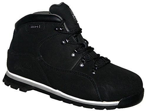 Oferta: 36.58€. Comprar Ofertas de Groundwork GR77 Botas de seguridad para hombre, con punta de acero, color negro, talla 41.5 barato. ¡Mira las ofertas!