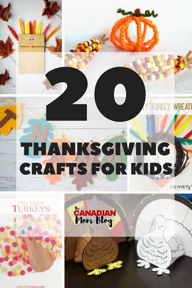 20 Thanksgiving Crafts for Kids - Canadian Mom Blog
