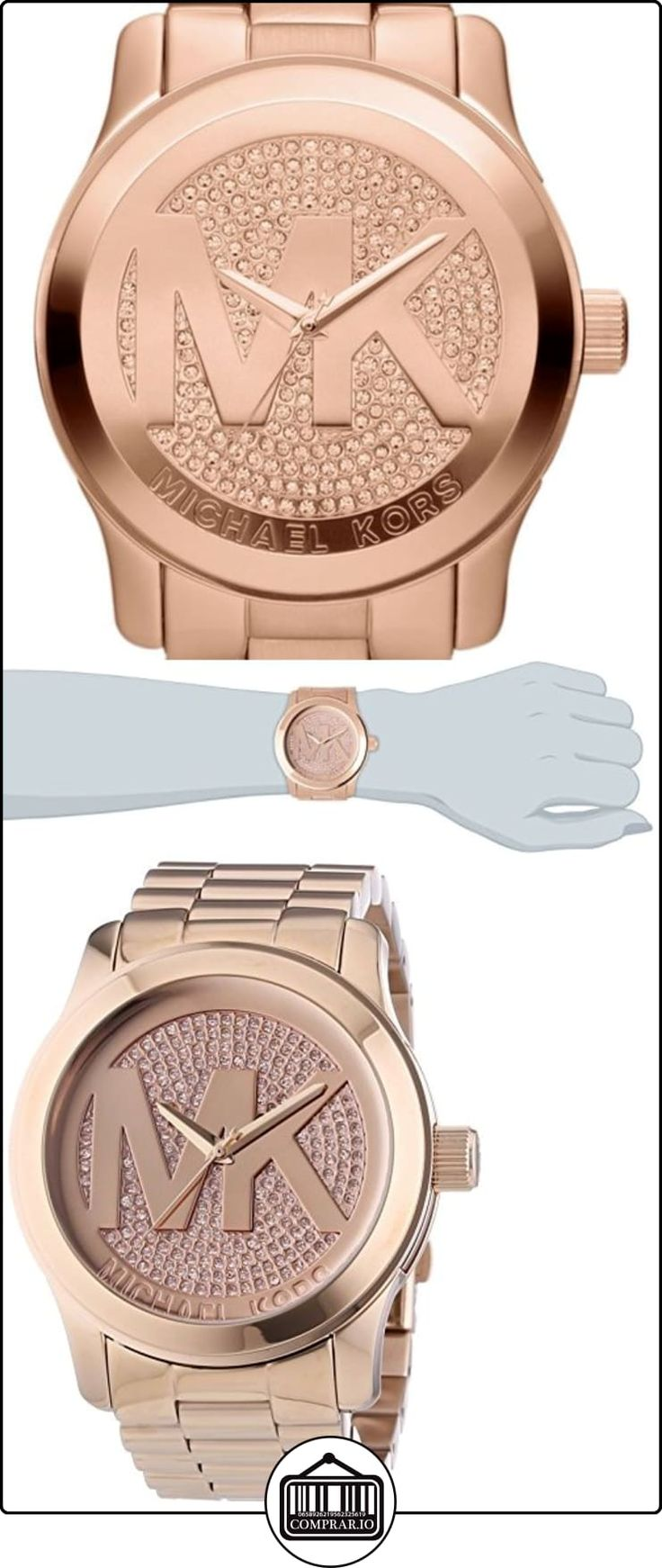 Michael Kors MK5661 - Reloj de pulsera mujer, acero inoxidable ✿ Relojes para mujer - (Gama media/alta) ✿