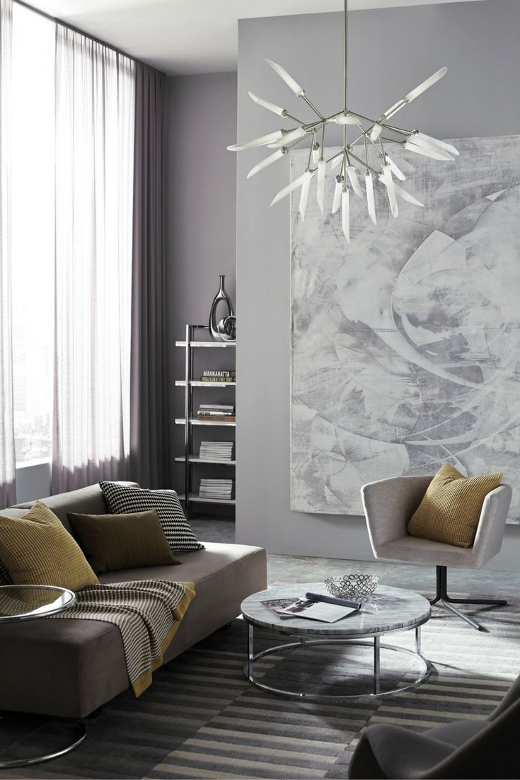 57 best chandeliers and suspension lighting images on pinterest spur led chandelier from tech lighting wholly modern interpretation of a classic multi arm aloadofball Gallery