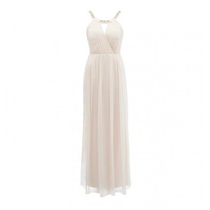 Reese embellished scoop neck dress...Forever New...simple, elegant, summertime, wedding dress...