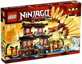 LEGO Ninjago Set #2507 Fire Temple- This would be the ULTIMATE lego set to get!