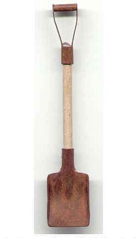 Mini Rustic Shovel.